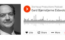 Podcast med Gard Bjørnstjerne Eidsvold
