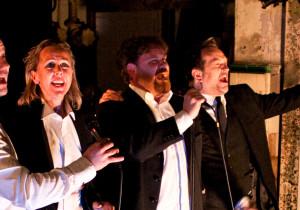 Fra venstre: Kim Sørensen, Marit A. Andreassen, Cato Skimten Storengen og Gard B. Eidsvold.